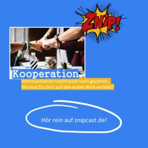 Kooperation Frage